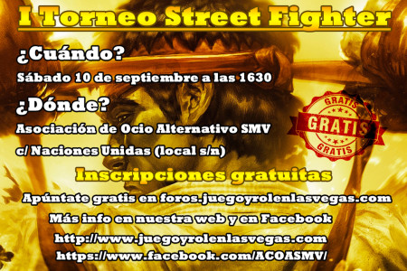 I Torneo de Street Fighter